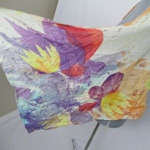 doTerra Accessories - doTerra Scarf Mother's Day Scarf Floral Watercolor